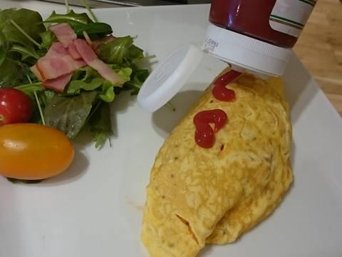 Cơm trứng ốp la recipe step 9 photo