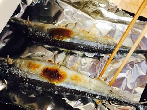 Cá sanma nướng hết sức đơn giản, thơm ngon recipe step 2 photo