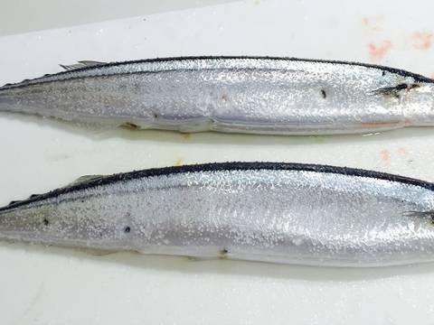 Cá sanma nướng hết sức đơn giản, thơm ngon recipe step 1 photo
