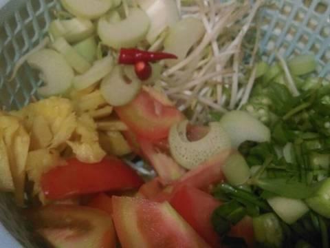 Canh chua cá ba sa recipe step 2 photo