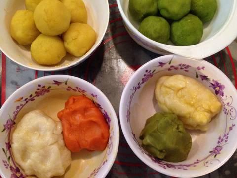Bánh trung thu ngàn lớp kiểu Triều Châu (Teochew Spiral Yam Moon Cake) recipe step 2 photo