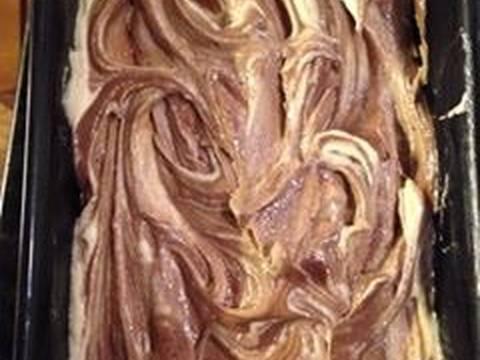Kahlua Marble Butter Cake( bánh bơ rượu cafe Kahlua) recipe step 7 photo