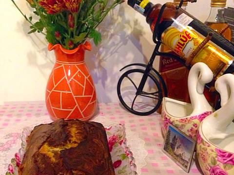 Kahlua Marble Butter Cake( bánh bơ rượu cafe Kahlua) recipe step 8 photo