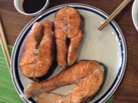 Cá hồi rán kiểu Đức recipe step 3 photo