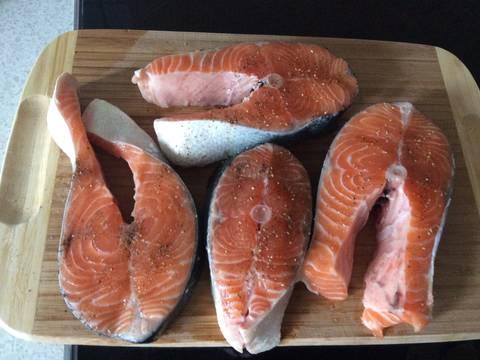 Cá hồi rán kiểu Đức recipe step 1 photo