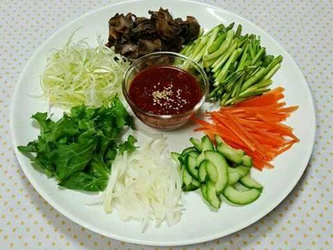 Salad ốc ~Mì trộn salad ốc 골뱅이무침 골뱅이비빔면 recipe step 1 photo