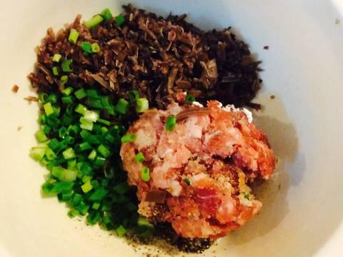 Canh mực nhồi thả miến dong recipe step 2 photo