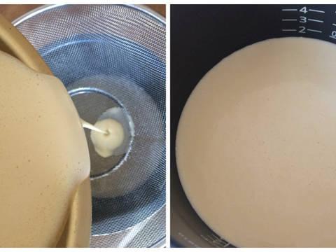BÁNH BÒ NƯỚC CỐT DỪA NẤU BẰNG NỒI CƠM ĐIỆN (Tráng miệng) recipe step 6 photo