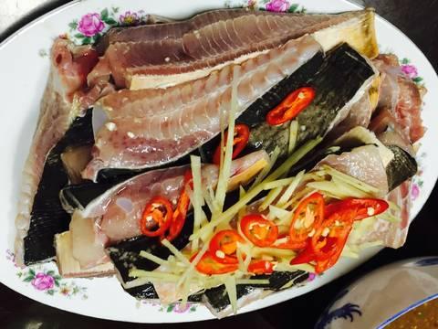 Cá đuối nhúng giấm recipe step 2 photo