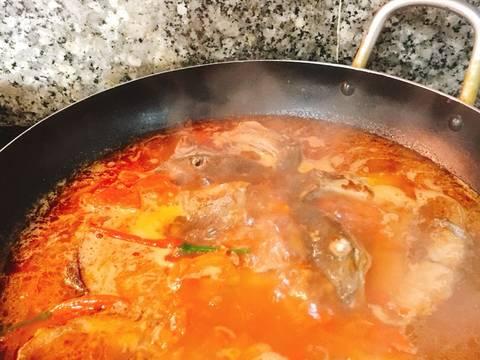 Cá Cam kho cà chua recipe step 3 photo