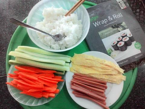 Kimbab 김밥 recipe step 3 photo