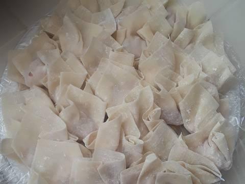 Hoành thánh tôm thịt recipe step 4 photo
