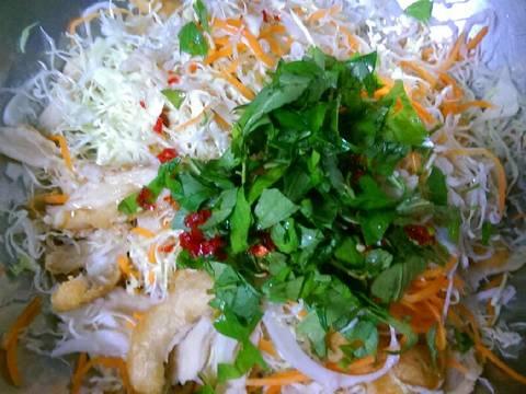 Gỏi Mì Căn Chay (Gỏi Gà Chay) recipe step 17 photo