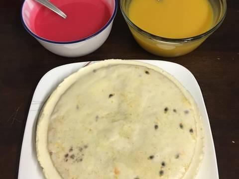 Bánh bông lan xoài và chanh dây.. recipe step 8 photo