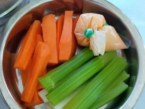 Cà mèn cơm trưa đơn giản dễ làm recipe step 2 photo