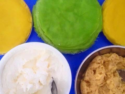 Bánh kem tươi sầu riêng (xoài, mít, dâu tây) recipe step 10 photo