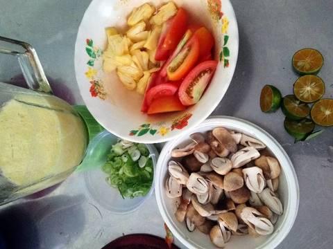 Canh chua cổ hủ dừa chay recipe step 2 photo