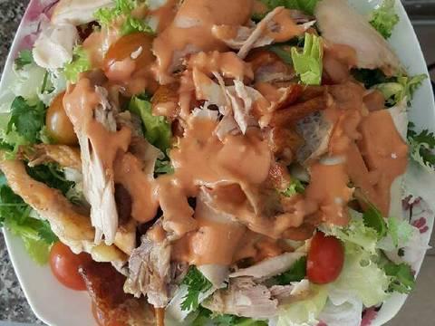 Salade gà quay recipe step 8 photo