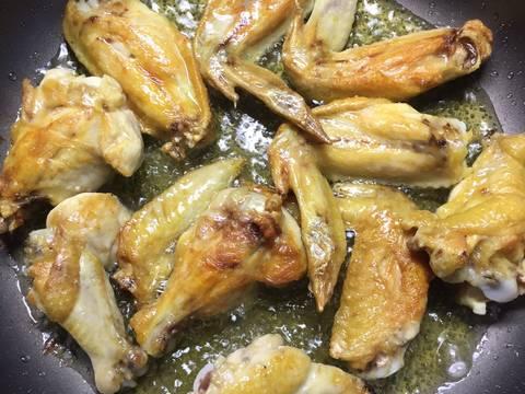 Cánh gà chiên nước mắm ngũ vị hương bước làm 1 hình