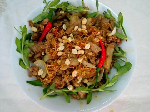 NHÍM XÀO LĂN recipe step 7 photo