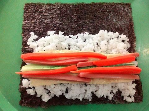 Kimbab 김밥 recipe step 4 photo