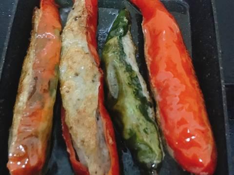 Ớt Nhồi Chả Cá Thác Lác recipe step 4 photo