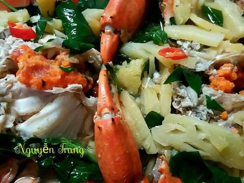 Cua nấu canh chua thơm recipe step 4 photo