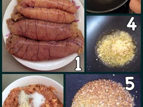 Trứng cá thu đút lò recipe step 1 photo
