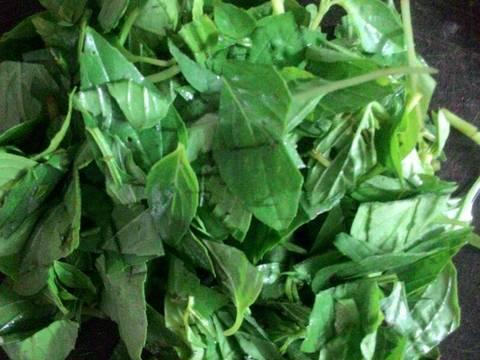 Ngao(Nghêu) xào húng quế recipe step 5 photo