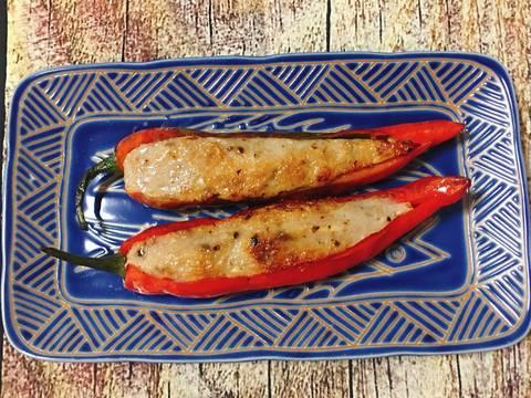 Ớt Nhồi Chả Cá Thác Lác recipe step 5 photo
