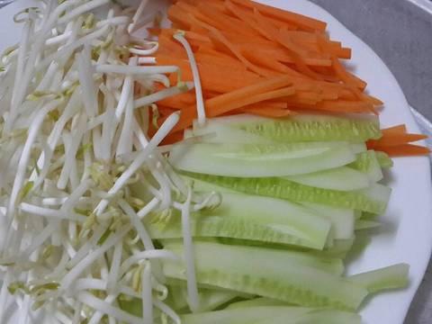Bánh tráng cuốn thịt heo recipe step 10 photo