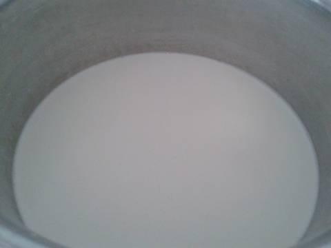 Kem dừa bước làm 2 hình