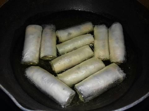 Chả Giò Chay Cuốn Với Bánh Tráng Gạo Quê Mình recipe step 5 photo