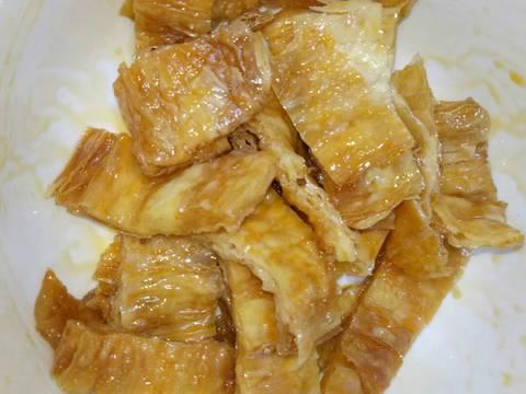 Tàu Hũ Ky Cuộn Lá Lốt (Món Chay) recipe step 2 photo
