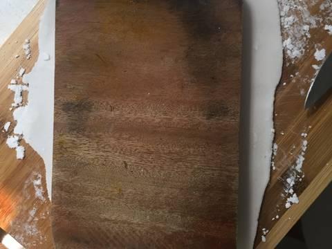 Bánh canh cua và cách làm sợi bánh canh từ bột lọc recipe step 7 photo