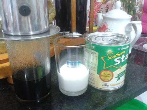Cà Phê Cốt Dừa recipe step 2 photo