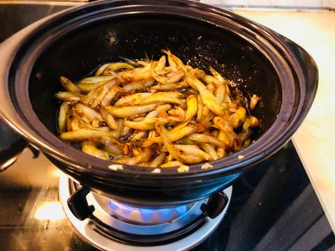 Cá bống rim mỡ lợn recipe step 5 photo