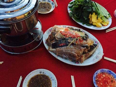 Cá đuối nhúng giấm recipe step 5 photo