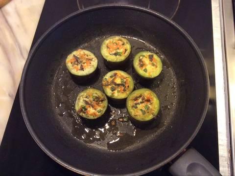 Cà tím chay nhồi đậu recipe step 5 photo