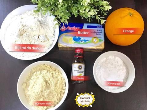 Bánh quy hạnh nhân recipe step 1 photo