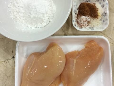 Ức gà chiên tẩm ngũ vị hương recipe step 1 photo