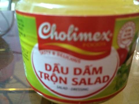 Salad cá ngừ recipe step 3 photo