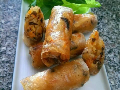 Chả Giò Sake (Món Chay) recipe step 4 photo