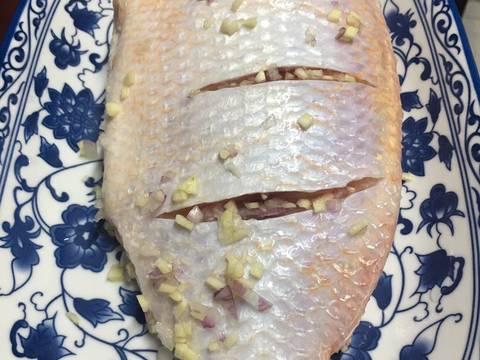 Cá Diêu Hồng Chưng Tương recipe step 1 photo