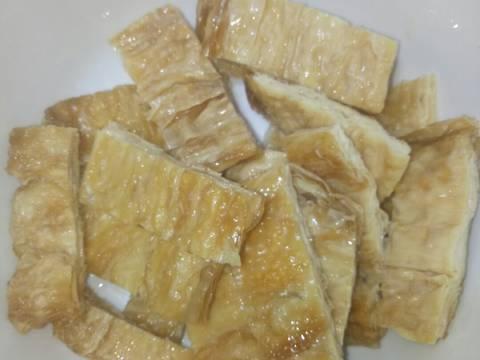 Tàu Hũ Ky Cuộn Lá Lốt (Món Chay) recipe step 1 photo