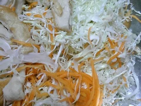 Gỏi Mì Căn Chay (Gỏi Gà Chay) recipe step 16 photo