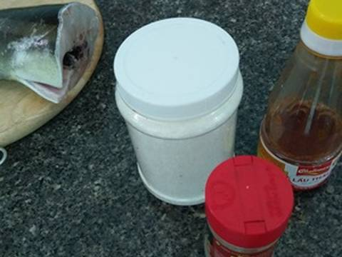 Cách nấu Lẩu cá bớp lá giang recipe step 1 photo
