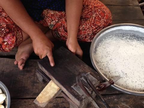 Chuối chiên ngon nhất quả đất recipe step 2 photo