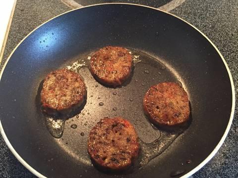 Xúc xích chay - Vegan Pepperoni recipe step 6 photo