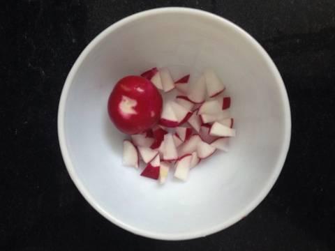 Cháo cá củ cải đỏ (for 9m baby) recipe step 1 photo